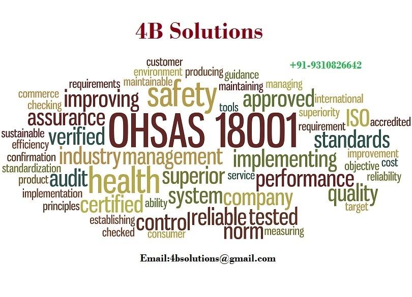 OHSAS 18001 is an Oc