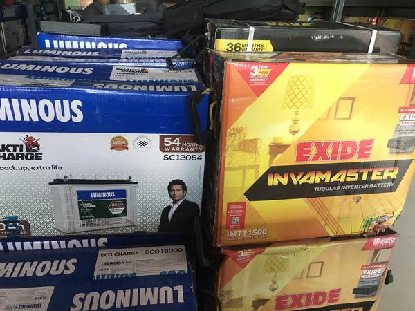 exide inverter battery and lu