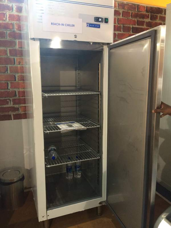 Vertical freezers and vertical