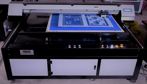 Thermal Flatbed Inkjet Computer To Screen High Speed manufactured by SAMAR INKJET INNOVATION INDUSTRY SPECIALLY DESIGNED FOR TEXTILES FABRICS FLATBED SCREEN ALSO IN VARIOUS SIZES AS PER CUSTOMER REQUIRED. EASY TO OPRATE AND DIRECT PRIT BY COMPUTER.. EASY CLEANING SYSTEM. BEST FOR PRINTING FABRICS BY SCREEN..