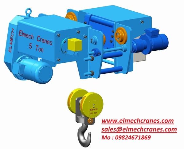 Updates Elmech Cranes Amp Components Pvt Ltd In Vadodara