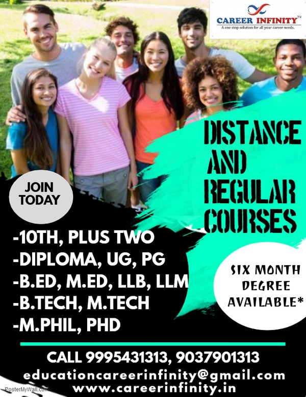 Distance & Regular Course