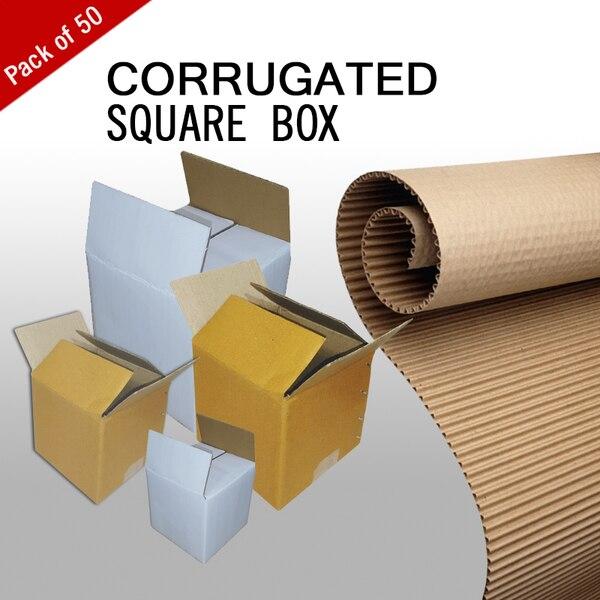 Corrugated Square Packagi