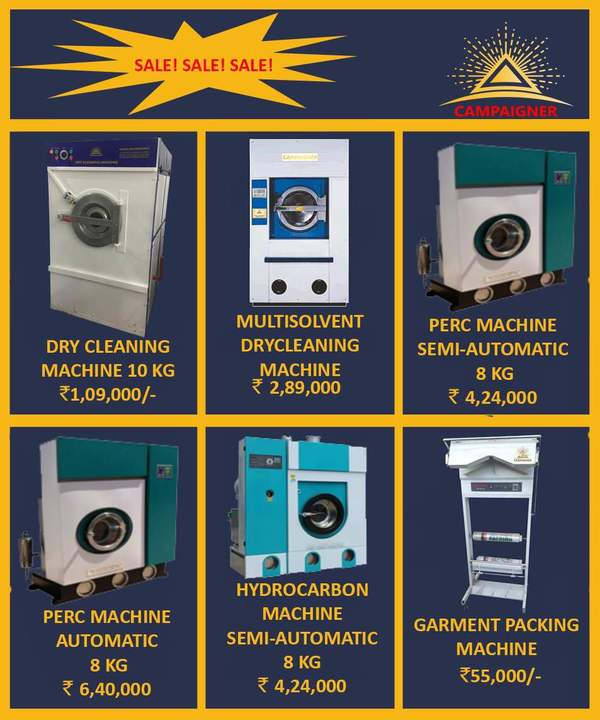 Drycleaning Plant Available wi