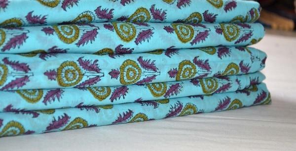 Indian Cotton Hand Block Print
