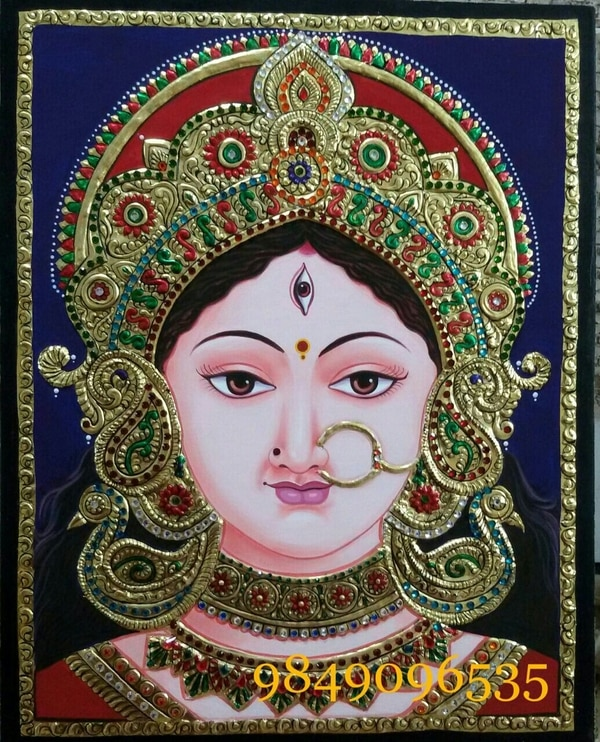 Tanjore painting Dur