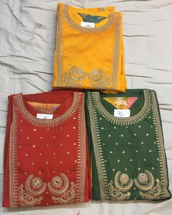 we are the best chanderi suit