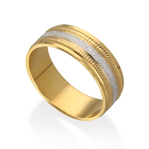 Gold Jewellery, Gold Jewelry, God Band, Gold Gents Band, Italian Jewellery, Diamond Jewellery, SAVYA JEWELs, NK Chains P. Ltd., Manufacturer, Designer Gents Band, Yellow Gold, 22Kt Gold, 18 Kr Gold Jewellery