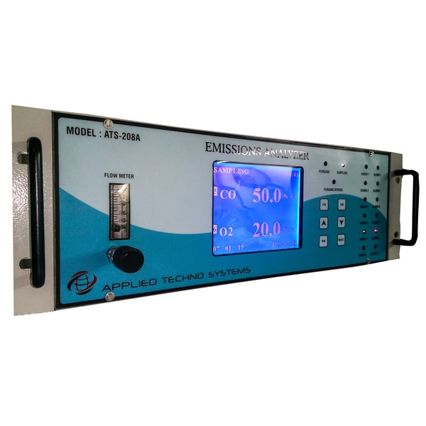 Continuous Emission Monitoring SystemsWe are the Leading Manufacturer of Continuous Emission Monitoring Systems. Our Stack Emission Monitoring System (CEMS) Model ATS-208A continuously monitors the concentration of gases from 100% V/V down to PPM Level in the stack, chimney , etc with data connectivity as per CPCB Guidelines