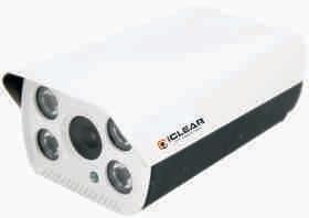 IP cctv camera (iclear cctv camera) IP N4ARWith 1.0/1.3/2.0/3.0/4.0/5.0/8.0/12.0 Megapixel 6/8/12/16/25 mm Lens 4 Array (IR Range Upto 150 Mtr.) Audio(Optional)