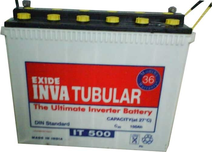 A Tubular Battery uses technol