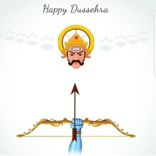 A very happy dussehra from Tea