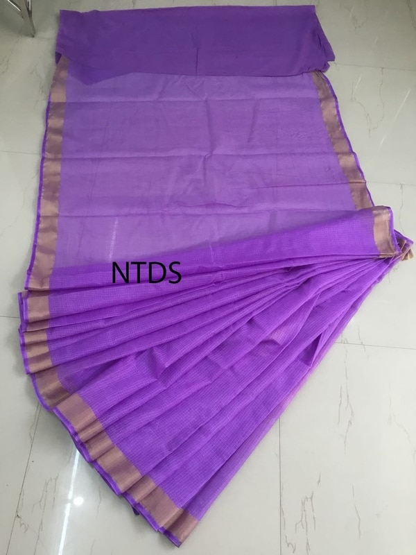 Kota Doriya Saree With Blouse