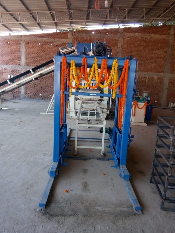 Fly ash brick making machine,