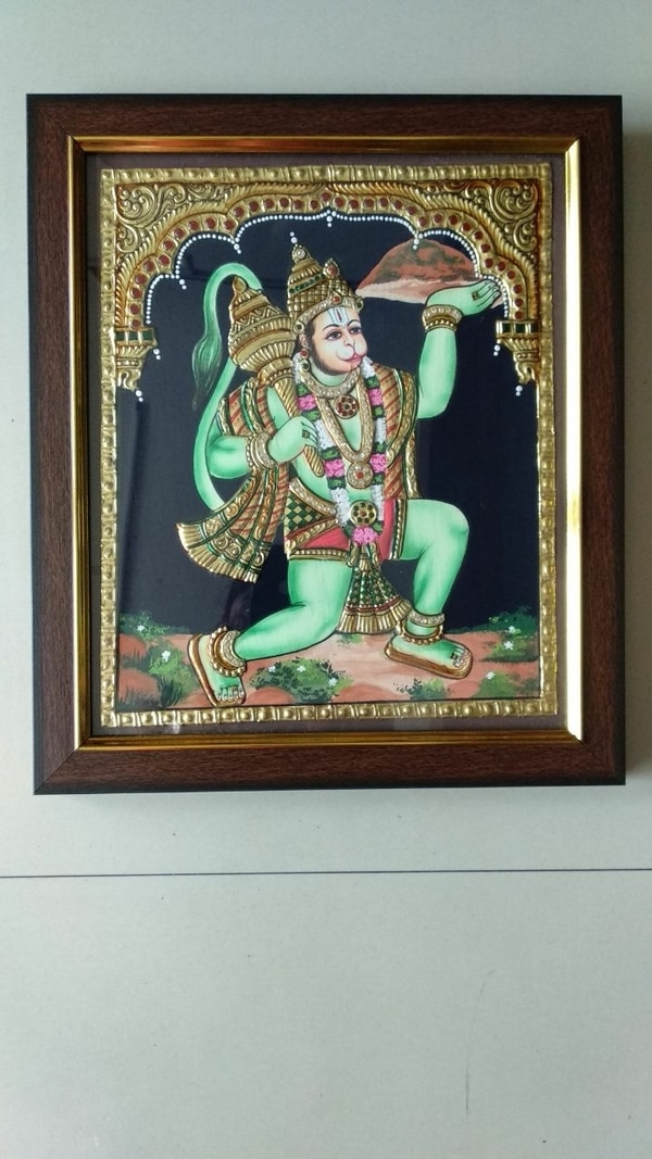 #Angeneyar #Tanjore #Painting.