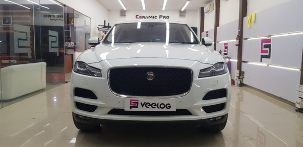 Jaguar F-Pace Protected with C