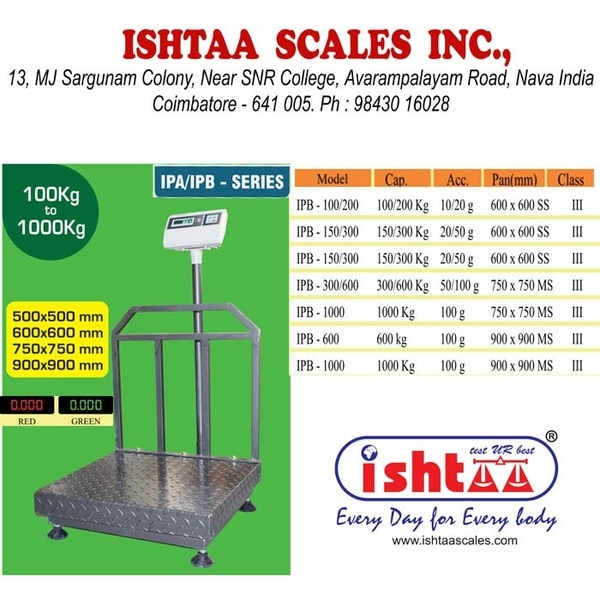 #Electronic Weighing Scale  #P