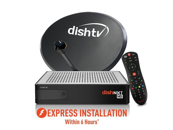 Dish TV HD Set Top Box with Re