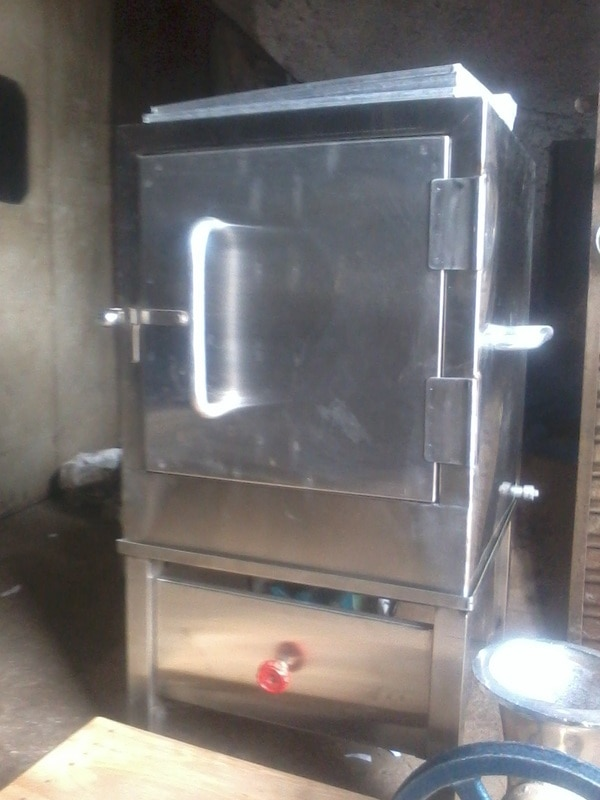 steam dhokla machine