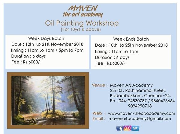 Oil Painting Workshop in