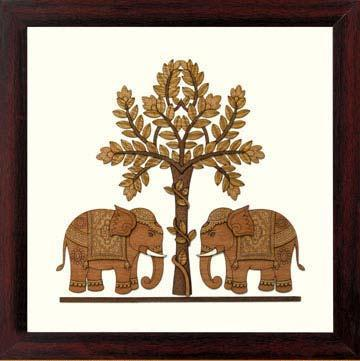 Elephants.   Wood is an Ingeni