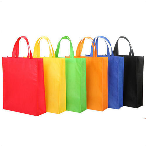 Colored Non Woven Carry Bags M