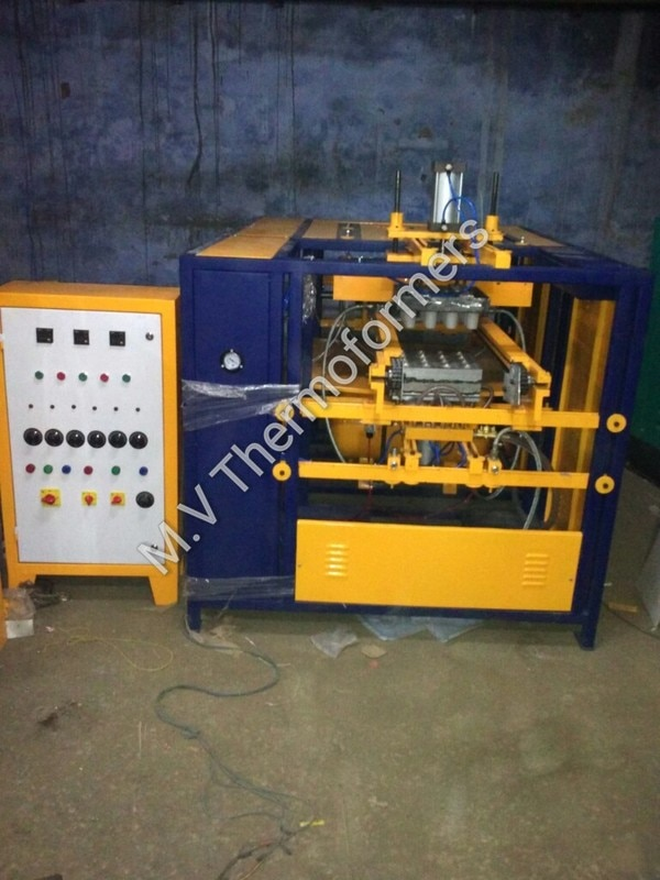 Automatic Thermocol Dona Plate