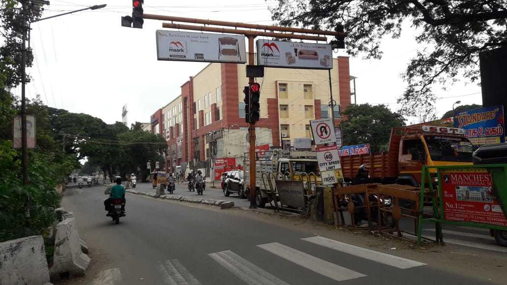 Traffic Signal Board  Advertis