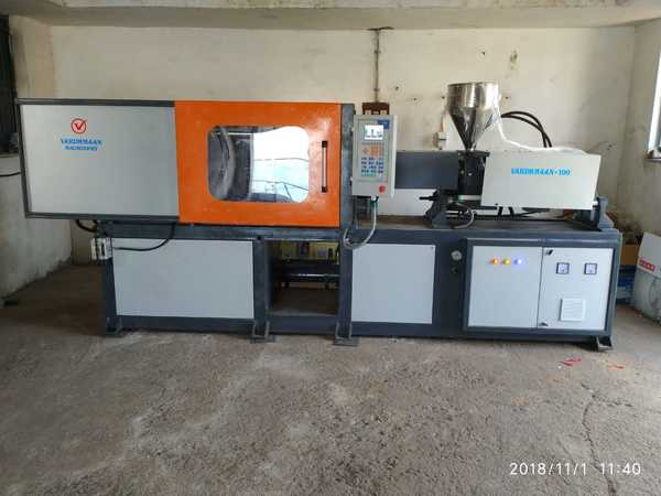 Vardhmaan Machinery is the Prominent & Leading Manufacturer from Ahmedabad, We manufacture Injection Molding Machines, Toggle Injection Moulding Machine, Energy Saving Injection Moulding Machine, Hydraulic Injection Moulding Machine, PLC Injection Mould Machine and Servo Controlled Injection Moulding Machine.Injection moulding machine manufactured at Vardhmaan are composed of Excellent Quality material which gives you high output and takes a very less maintenance.