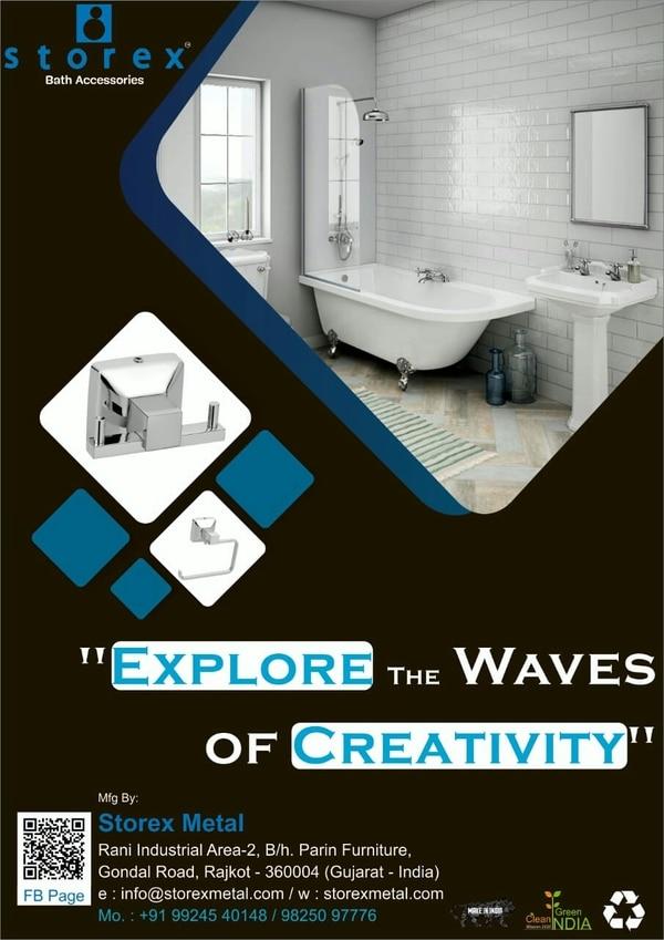 Manufactures of Bathroom Accessories Rajkot