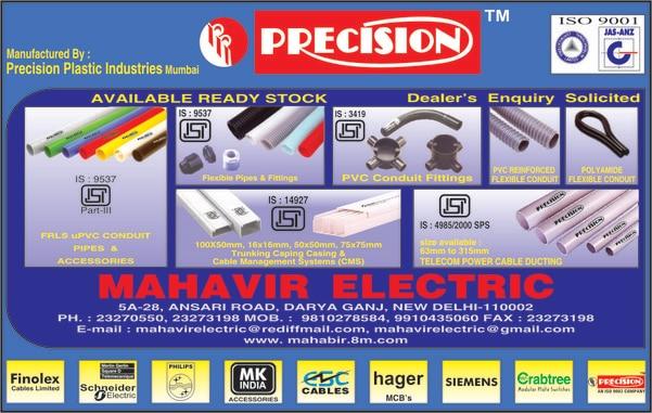 PRECISION PVC PIPES