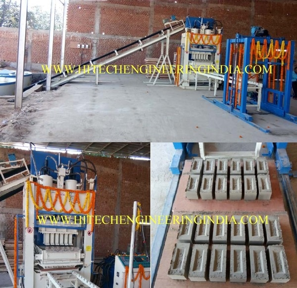 Fly ash bricks machine Araria,