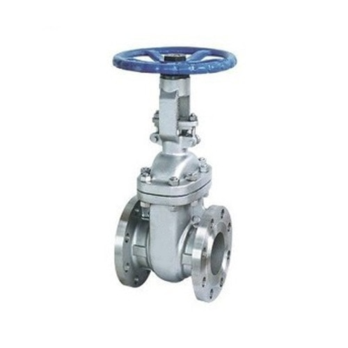 Gate valve with flan