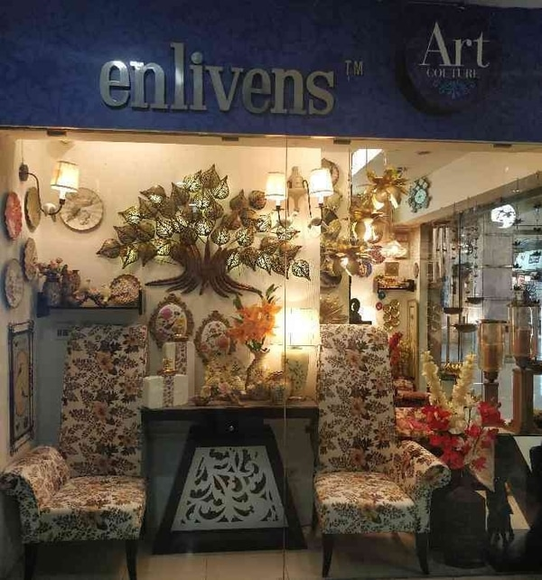 Luxurious home decor in Enlivens UG floor shop no.12 @Mega Mall