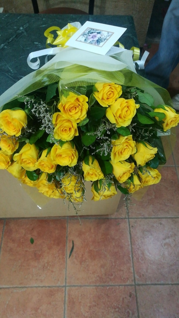 Home delivery of bouquets and