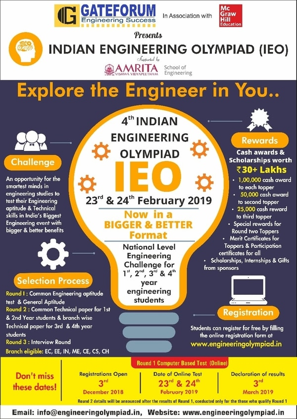 Indian Engineering olympiad.Re