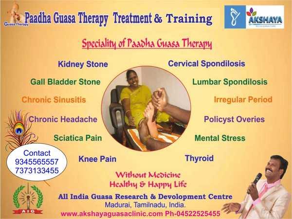 Paadha Guasa Therapy Training