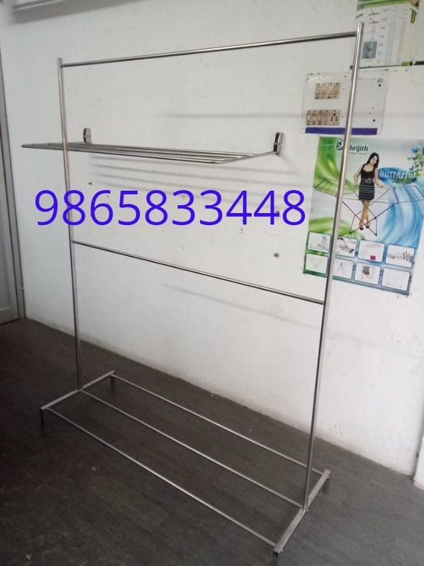 Cloth Drying Hangers Cloth Drying Hangers  Rust proof stainless steel.Cloth Drying Hangers   Foldable / portable. Cloth Drying Hangers  Ideal for indoor / outdoor drying. Cloth Drying Hangers  This Is Our Customize model Any Size And Length We Do.Cloth Drying Hangers  This Model Is There Stainless Steel And Powder Coating
