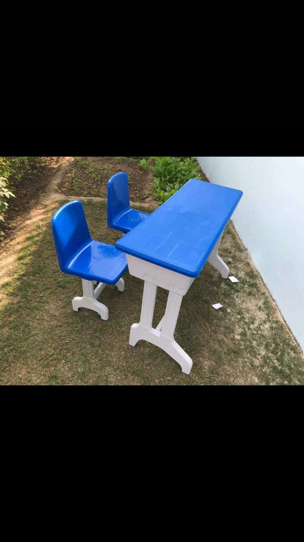 Plastic  Two Seater bench .