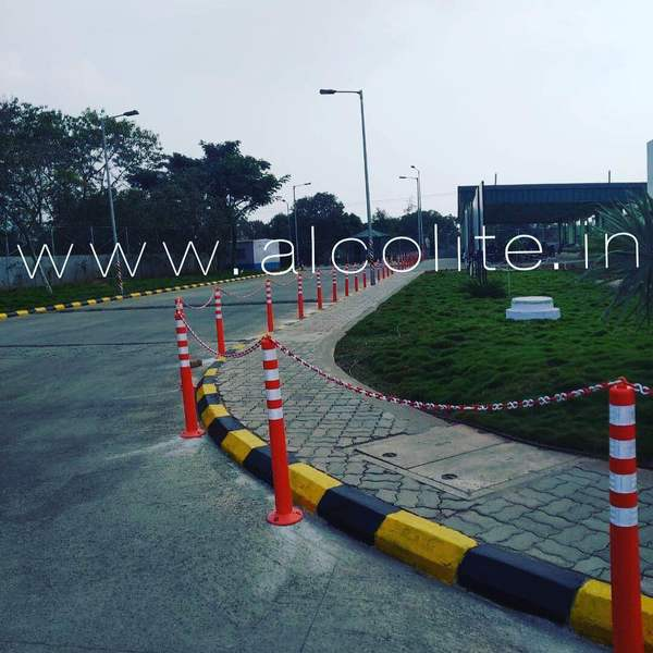 Successful Installation of ALCOLITE Spring Post.Sales Inquiry - alcoliteindia@yahoo.com #roadsafetyproducts #alcolite #alcoliteroadsafetyproducts #roadsafety