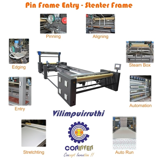 TEXTILE MACHINE - PIN FRAME EN