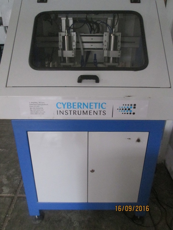 Year end special offer Cybernetic announces a special year end offer for CNC Drilling Machines. Our CNC PCB drilling machines are being used for metal as well as non metal PCB drilling and routing. Two spindle CNC PCB drilling machine, booked before end of year will get extended warranty of 2 years. Book now!!!