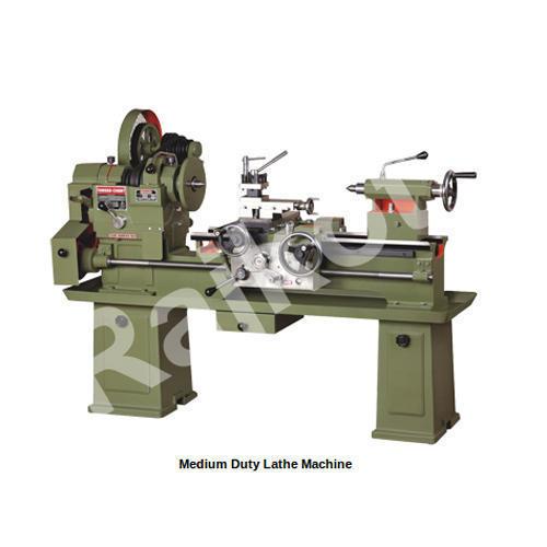 Medium Duty Lathe Machine Rajk