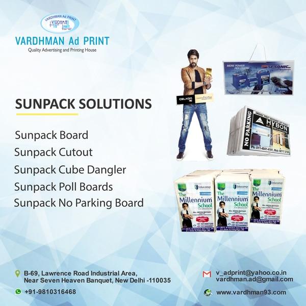 Sunpack Board Printing Service