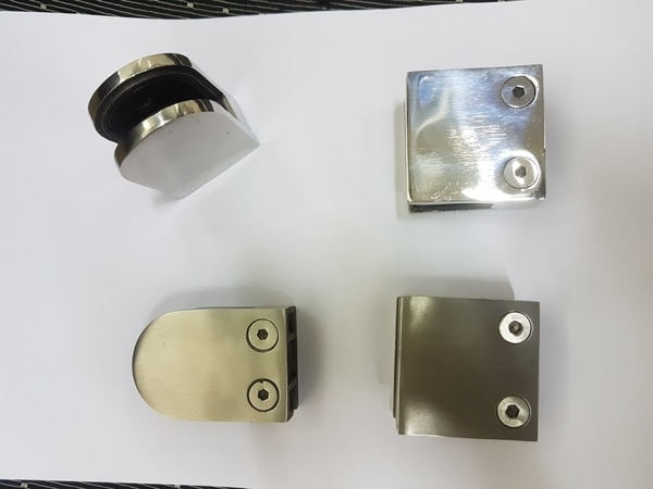 Stainless Steel Glass Clamp in