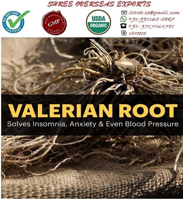 Botanical Name: Valeriana offi
