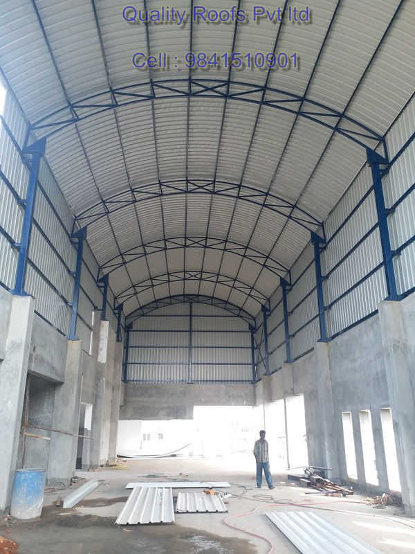 Leading Industrial Roofing Contractors In ChennaiWe are the leading Industrial Roofing Contractors In Chennai, undertake all Industrial Roofing Services, Metal Roofing Services, Badminton Roofing Services, Polycarbonate Roofing Services, Puf Panel Roofing etc., at very competitive price using quality roofing material.