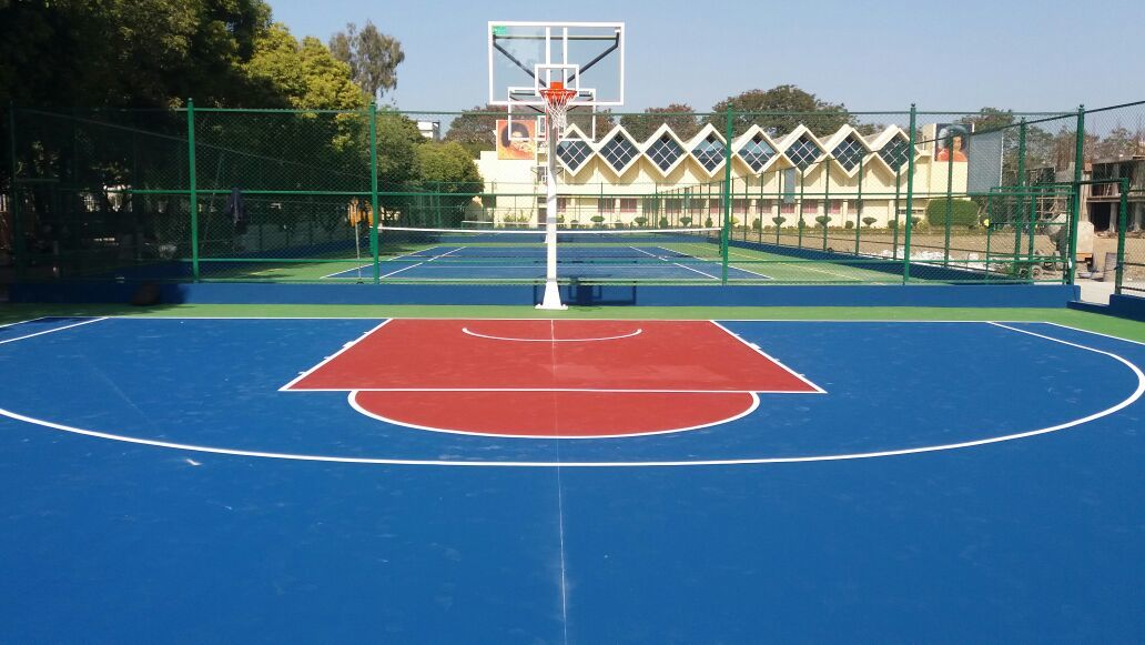 Excel Sports International RCC Based Basketball CourtApprox Price: Rs 175 /Square FeetGet Latest PriceIn order to cater to the increasing demands of our clients we are involved towards offering our clients with RCC Based Basketball Court. this is anti-slippery in nature and thus, highly demanded by our clients. Product Details:    Accurately designed    Dimensionally correct    Perfect design    Durable in nature    Long life    Smooth construction