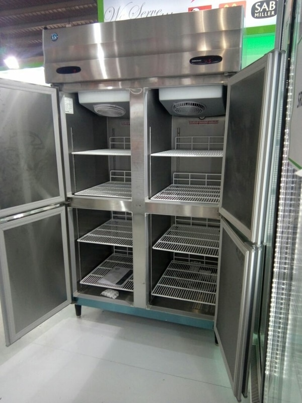four door refrigerator cum deep freezer