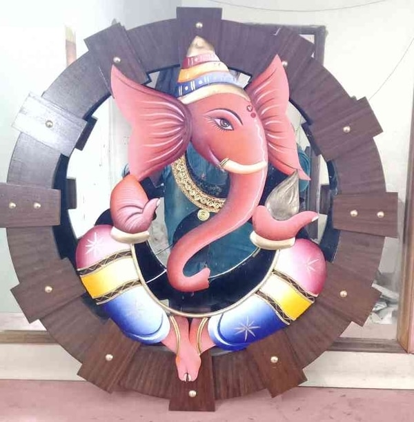 HD Ganesha Wrought iron Handic